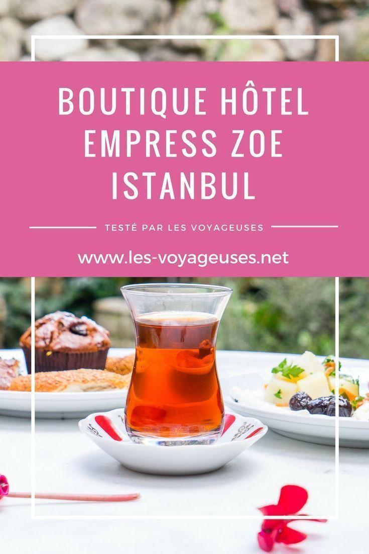 Testé par les voyageuses: boutique hôtel Empress Zoe, Istanbul, Turquie