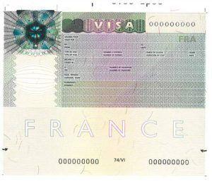Procédure pour l'obtention du visa Schengen