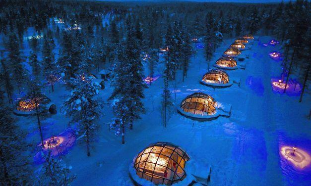 Frileuse ? Voici 8 hôtels insolites que tu va quand même vouloir essayer cet hiver