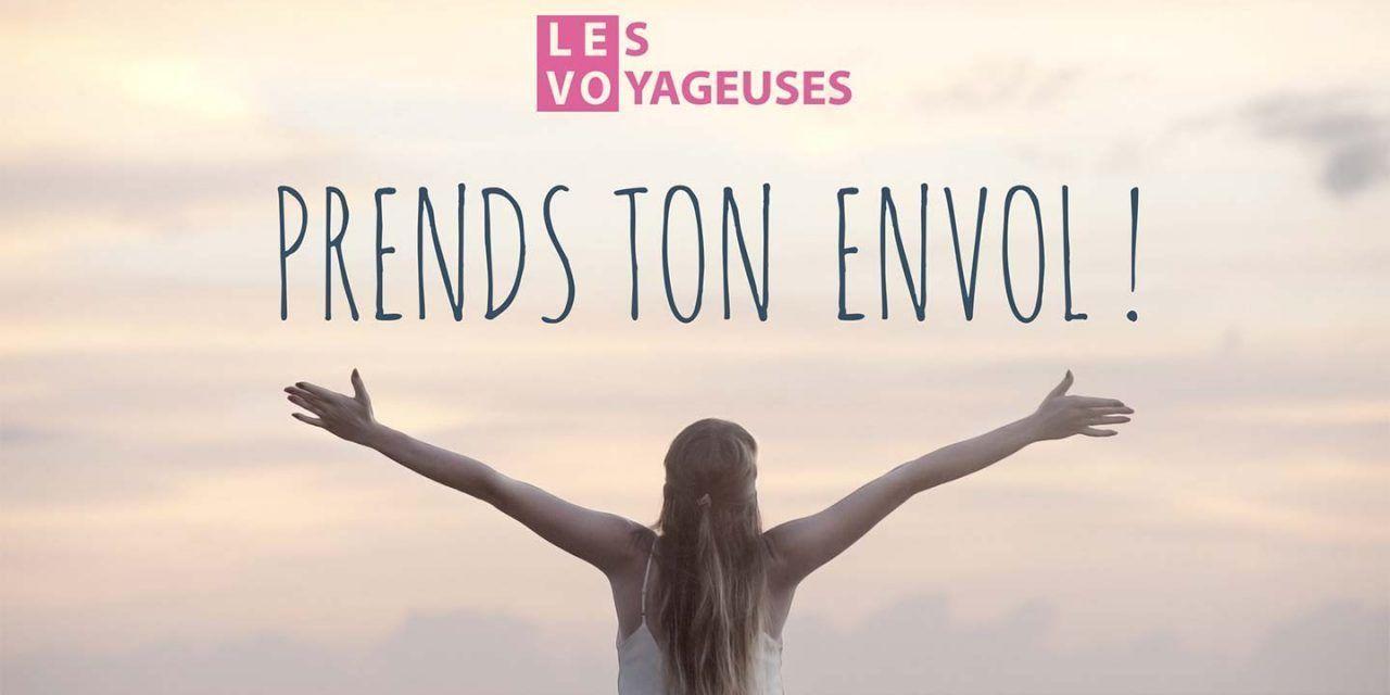 Enfin, le 1er webzine de voyage au féminin est né. Prends ton envol avec Les Voyageuses !