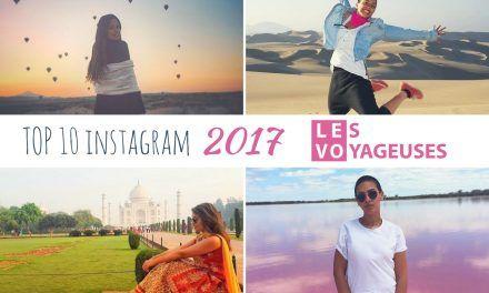 Top 10 des photos Instagram des Voyageuses