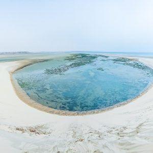 Dakhla paradis terrestre au Maroc - dune blanche