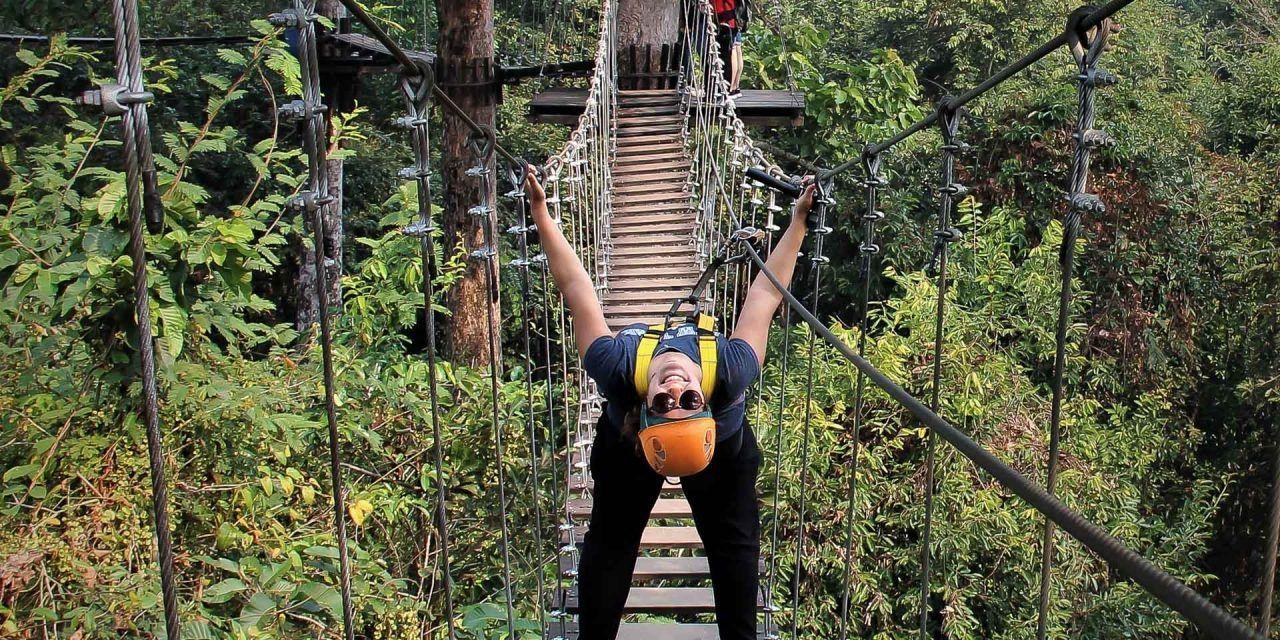 Testé par Les Voyageuses : Tyrolienne à Siem Reap avec Angkor Zipline