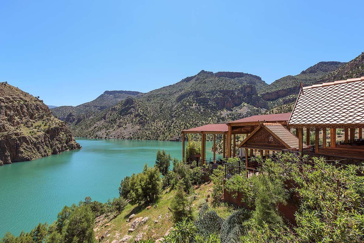 Les plus beaux lacs au Maroc - lac Bin el ouidane Beni Mellal