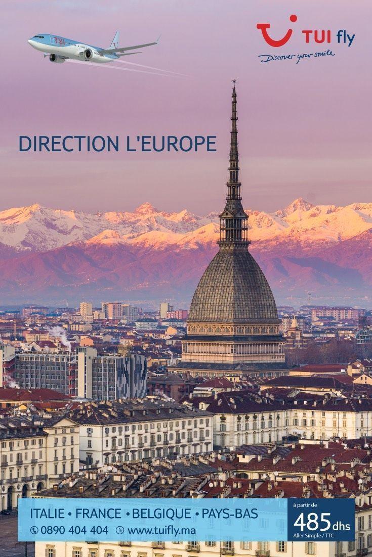 promo tui fly pour vols du Maroc vers l'Europe