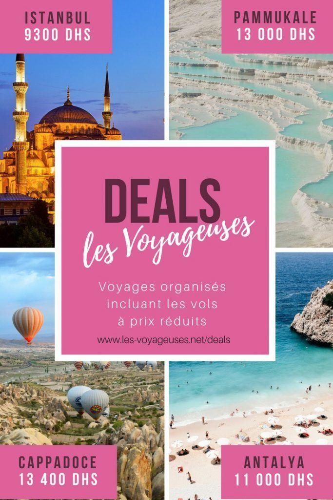 Deals pour les voyageuses - des voyages organisés à prix réduits