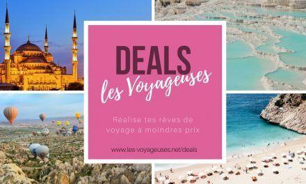 Lancement des deals Les Voyageuses