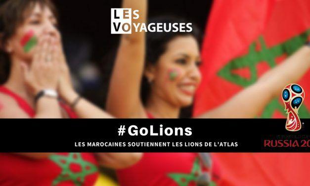 Rencontres entre Voyageuses pour soutenir les Lions de l'Atlas #Russia2018