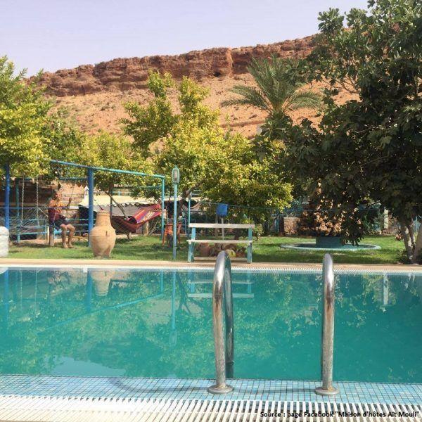 gites insolites au Maroc : Maison d'hôte Ait Mouli à Bzou entre Beni Mellal et Azilal