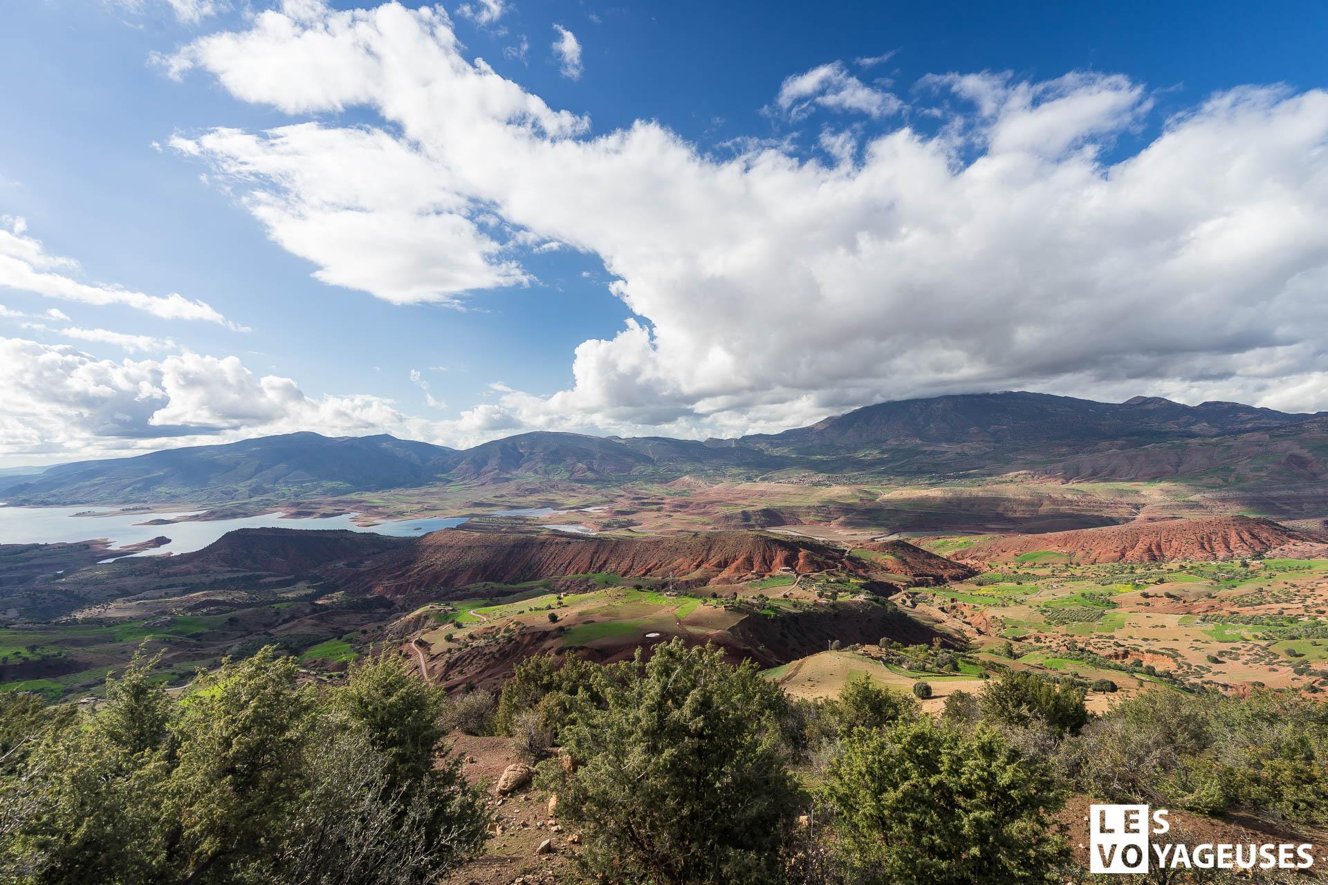 Les plus beaux lac à visiter au Maroc - Lac Bin el Ouidane Beni Mellal