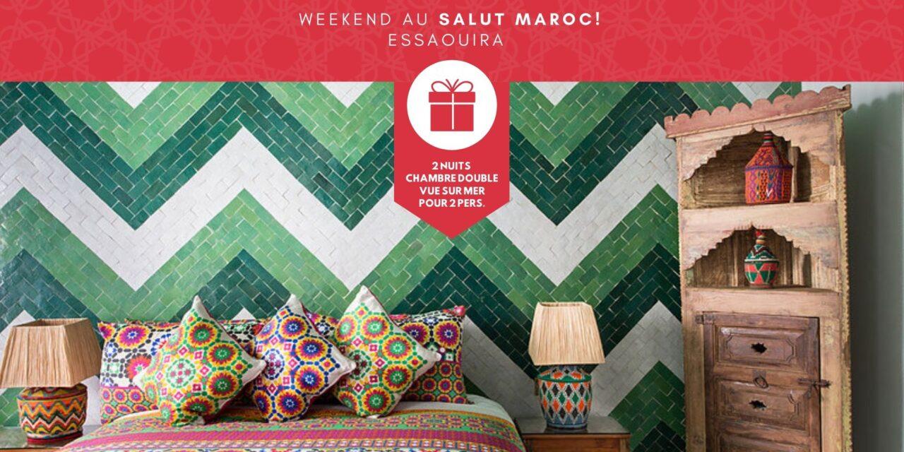 Concours Salut Maroc à Essaouira #JeVoyageAuMaroc