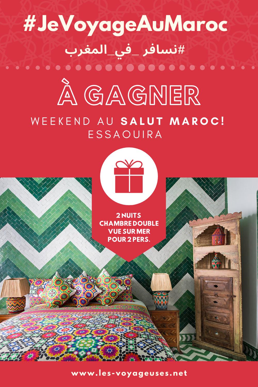 Participez aux concours #JeVoyageAuMaroc