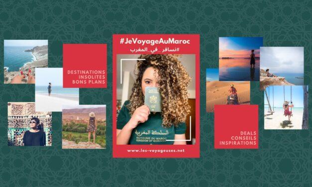 #JeVoyageAuMaroc la campagne de solidarité pour relancer le tourisme au Maroc post covid-19