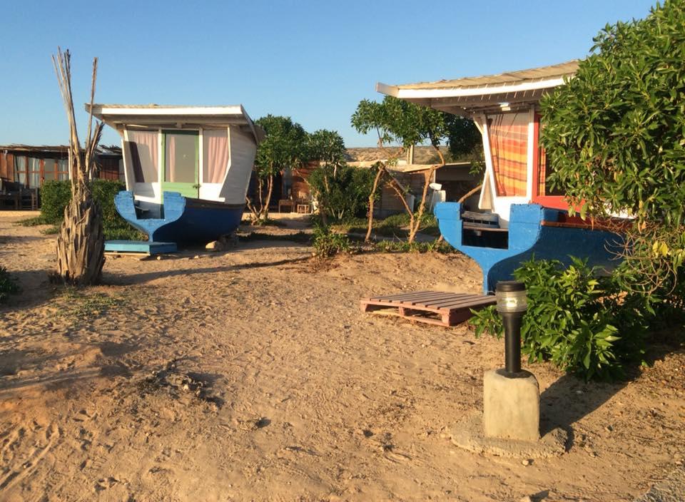 hebergement insolite au Maroc - camping boat à imsouane